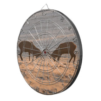 Antelopes Fight, Metal Cage Dart Board