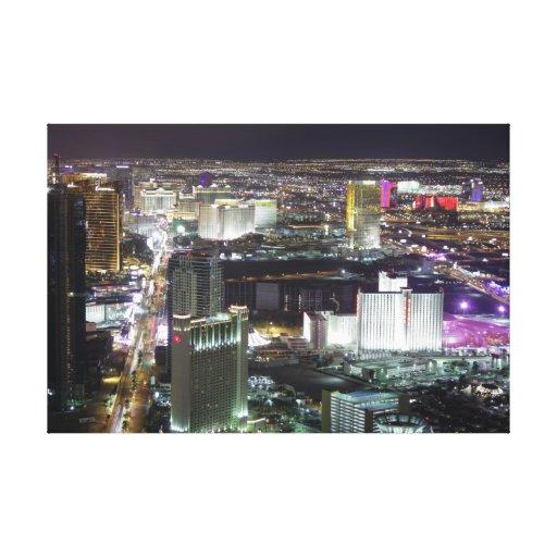 Antena de Las Vegas, al oeste de la tira Impresión En Lona Estirada