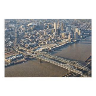 antena de New Orleans en el centro de la ciudad Foto