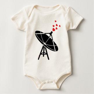 Antena del amor trajes de bebé