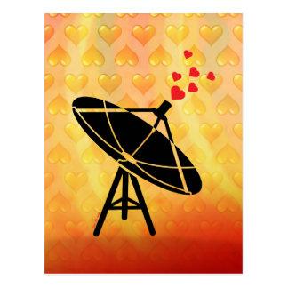 Antena del amor tarjetas postales