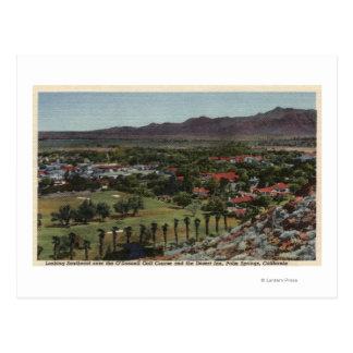Antena del campo de golf de O'Donnell Tarjetas Postales