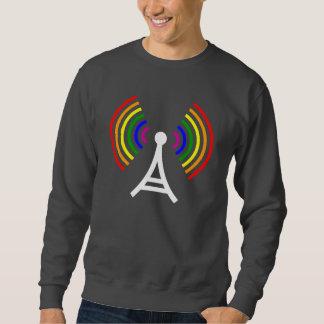 Antena gay de la señal del arco iris de WiFi Sudadera