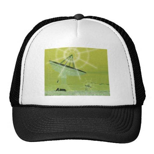 antena parabólica gorro