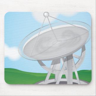 Antena parabólica mousepads