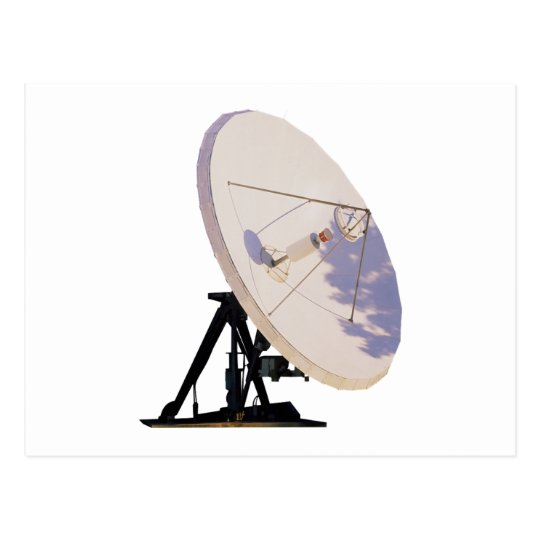 Antena parabólica postales