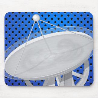 Antena parabólica tapete de ratones