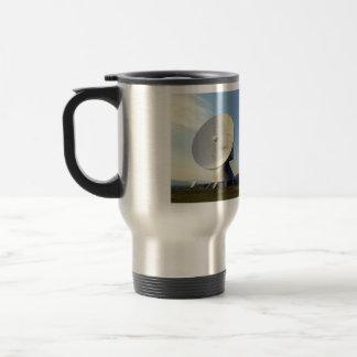 Antena parabólica tazas de café