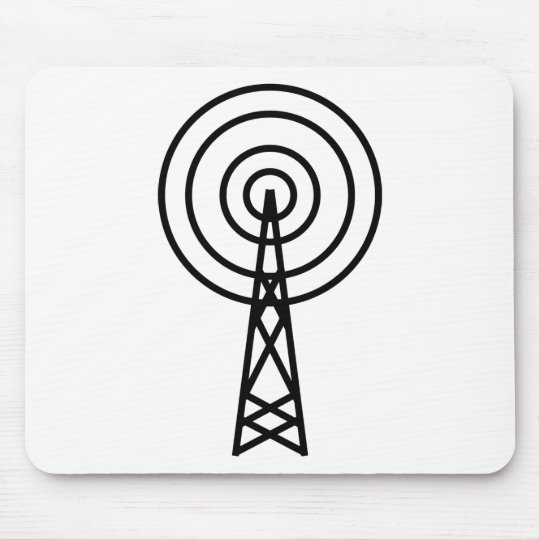 antenna aerial sign mouse pad