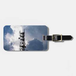 Antenna and thunderclouds bag tags