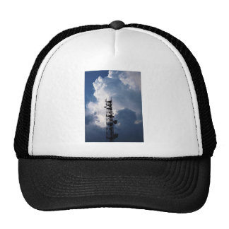 Antenna and thunderclouds trucker hat