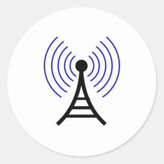 Antenna Classic Round Sticker