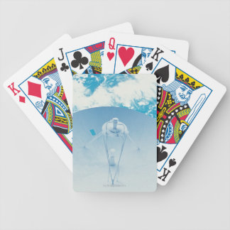 Antenna in Space Bicycle Playing Cards