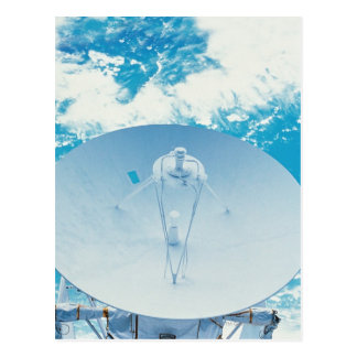 Antenna in Space Postcard