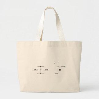 Antenna Tuning Unit Diagram Tote Bags
