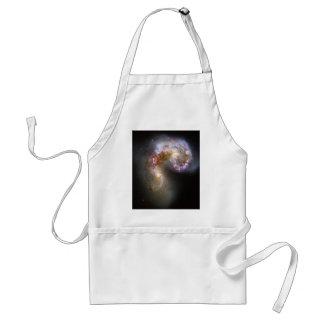 Antennae Galaxies Adult Apron