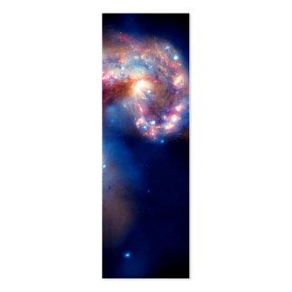 Antennae Galaxies Colliding Business Card