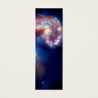 Antennae Galaxies Colliding Mini Business Card