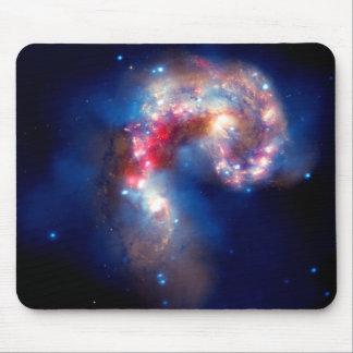 Antennae Galaxies Colliding Mousepad