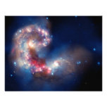 Antennae Galaxies Colorful Composite Announcement