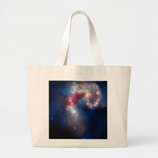 Antennae Galaxies Colorful Composite Canvas Bags