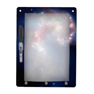 Antennae Galaxies Colorful Composite Dry Erase Board
