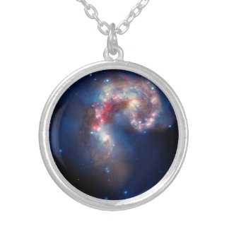 Antennae Galaxies Colorful Composite Necklaces