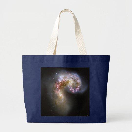 Antennae Galaxies Large Tote Bag