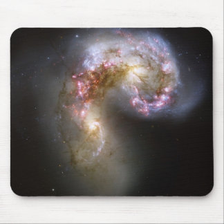 Antennae galaxies mouse pad