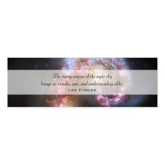 Antennae Galaxies, NGC 4038/4039 Double-Sided Mini Business Cards (Pack Of 20)