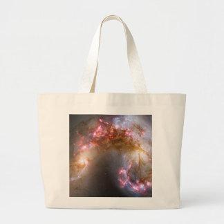 Antennae Galaxies, NGC 4038-4039 Large Tote Bag