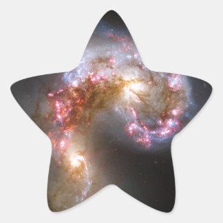 Antennae Galaxies, NGC 4038-4039 Star Sticker