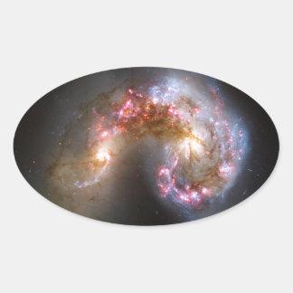 Antennae Galaxies, NGC 4038-4039 Sticker