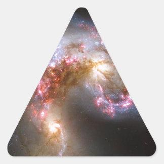 Antennae Galaxies, NGC 4038-4039 Triangle Sticker