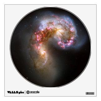 Antennae Galaxies, NGC 4038-4039 Wall Decal
