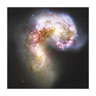 Antennae Galaxies NGC 4038 NGC 4039 Caldwell 60 61 Canvas Print