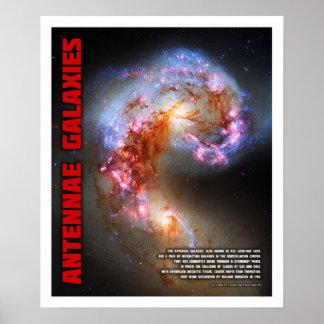 Antennae Galaxies Poster