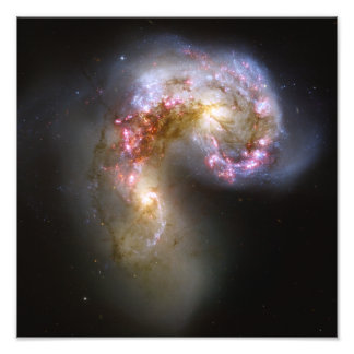 Antennae Galaxies Space Astronomy Photo Print