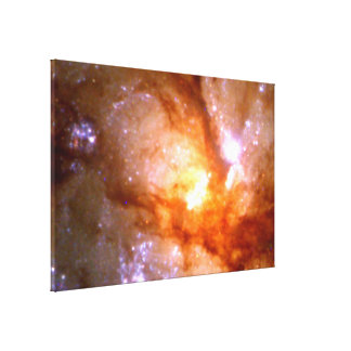 Antennae Galaxy Closeup (NGC 4038:4039 ) Canvas Print