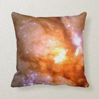 Antennae Galaxy Closeup (NGC 4038:4039 ) Throw Pillow