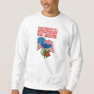 Antepasado revolucionario de la guerra suéter