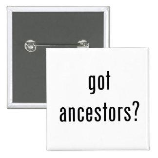 ¿antepasados conseguidos botón pin