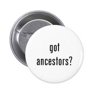 ¿antepasados conseguidos? pin redondo de 2 pulgadas