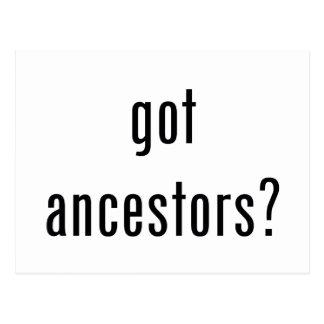 ¿antepasados conseguidos? tarjetas postales