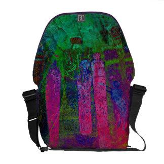 Antepasados del arco iris bolsas messenger