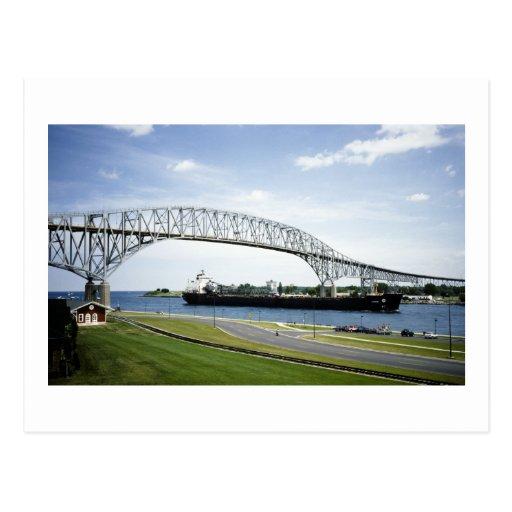 Antes de había puente de dos Bluewater Postal