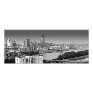 Antes de la lluvia Cincinnati céntrica Fotografías