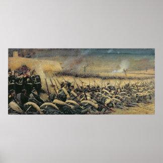 Antes de la ofensiva, 1877-78 póster