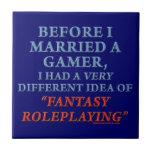 Antes de que casara un videojugador azulejo