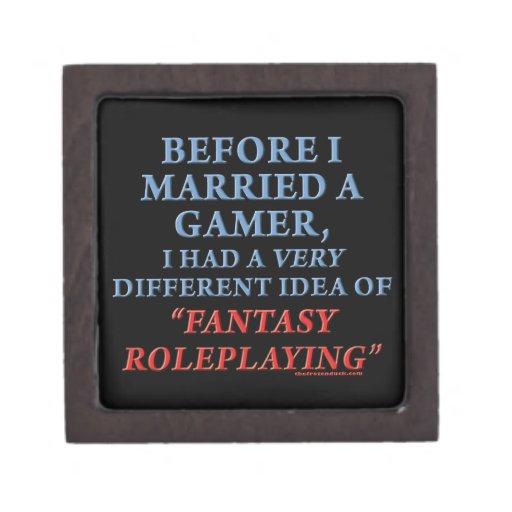 Antes de que casara un videojugador cajas de regalo de calidad